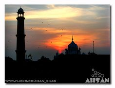 Around Lahore Fort Sun Set