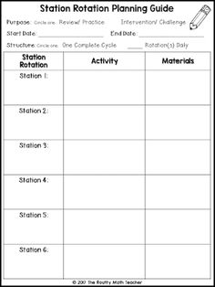 Classroom Freebies Too: FREE Math Station Planning Guide Classroom Freebies, Math Classroom, Kindergarten Math, Teaching Math, Teaching Time, Teaching Spanish, Classroom Organization, Classroom Management, Teaching Tools