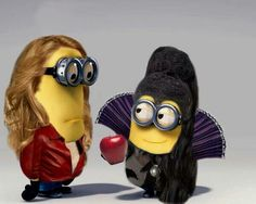 Once Upon a Minions  Emma Minion & Evil Queen Regina Minion