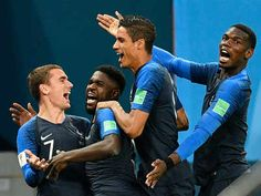 France beat Belgium with a 1-0 goal to enter Semi-Finals, the goal coming at 51st minute from a header through Samuel Umtiti on 10/07/2018.