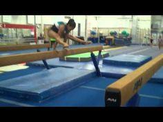 Fantastic conditioning circuit on beam! Gymnastics Stunts, Gymnastics Academy, Gymnastics Tricks, Gymnastics Skills, Gymnastics Coaching, Gymnastics Training, Gymnastics Workout, Artistic Gymnastics, Cheerleading