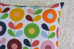 Swedish Flowers cushion cover