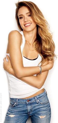 jessica alba: women's health