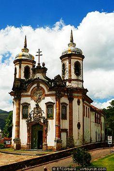 Igreja de Sao Francisco de Assis - Ouro Preto, Brazil