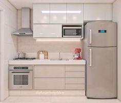 The kitchen that is top-notch white kitchen , modern kitchen , kitchen design ideas! Apartment Kitchen, Home Decor Kitchen, Kitchen Furniture, Kitchen Interior, Kitchen Ideas, Kitchen Inspiration, Country Kitchen, Studio Apartment, Wood Furniture