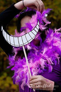 DIY Cheshire Cat Costume | Overstuffed
