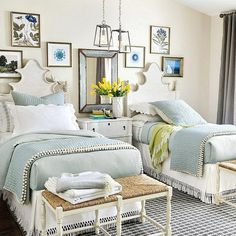 Guest Bedrooms, Girls Bedroom, Master Bedroom, Bedroom Decor, Bedroom Small, Bedroom Ideas, Ikea Bedroom, White Bedroom, Master Suite