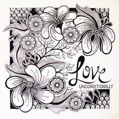 Divine Design Art Studio: Love unconditionally