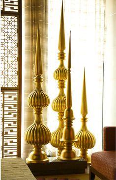 Finial Sculptures by Viya Home.