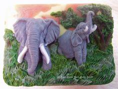 Just Bath And Body Stuff - African Elephants Safari Handmade Glycerin Soap Bar Custom Bath Art by JBABS Elephant, $8.00 (http://www.jbabs.com/african-elephants-safari-handmade-glycerin-soap-bar-custom-bath-art-by-jbabs-elephant/)