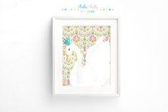 Printable Swan Print 8x10 by BellaBellaStudios on Etsy