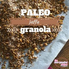 This paleo jaffa granola recipe makes every breakfast delish! Find of paleo recipes they all taste amazing but more importantly are EASY to make! Sugar Free Recipes, Clean Recipes, Paleo Recipes, Granola, Paleo Diet Food List, Healthy Lifestyle Tips, Lifestyle Blog, Healthy Breakfast Recipes, Breakfast Ideas