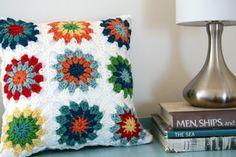 adorable crochet pillows