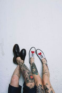 DOUBLE DOC'S: The 3989 shoe and Joyce shoe, shared by stephcetina.