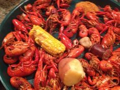 Crawfish...can't wait for all the crawfish boils we have coming up!!!!!!!!!