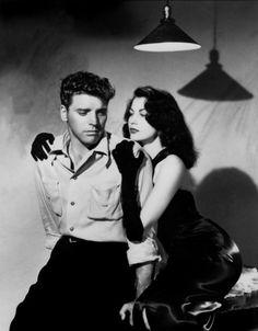 Burt Lancaster and Ava Gardner, publicity shot for The Killers (1946)
