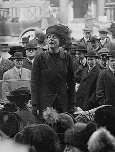 Lucy Burns, American Women's Suffrage