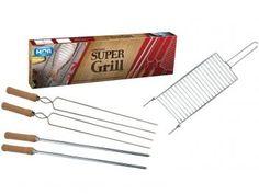 Conjunto para Churrasco 5 Peças - Mor Super Grill
