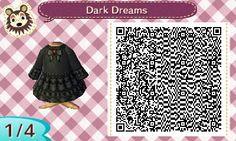winternewleaf: Felt like making a gothic dress! - Spooky patterns