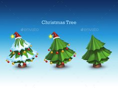 Christmas Tree — Photoshop PSD #art #christmas • Available here → https://graphicriver.net/item/christmas-tree/9862240?ref=pxcr