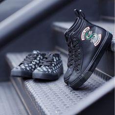 Southside Serpent Sneakersssssss  // Riverdale Southside Serpents Hi-Top Sneakers Hot Topic exclusive