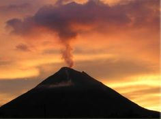 Sunrise Over Arenal