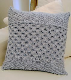 Ravelry: Honeycomb Cable Cushion pattern by Rose Sharp Jones