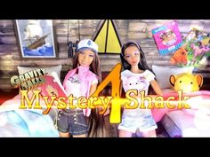 How to Make Gravity Falls Mystery Shack Part 4 - Doll Crafts - YouTube