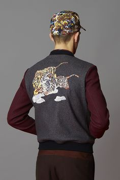 EYE OF THE TIGER: THE TIGER BOMBER JACKET - Kenzine, the Kenzo official blog