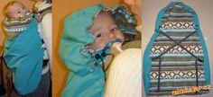 Ochranná kapsa na nošení dětí