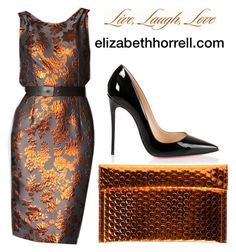 LIZ by elizabethhorrell on Polyvore featuring Christian Louboutin, MM6 Maison Margiela, Vera Wang and Expressions