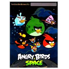 Angry Space Birds Party Favor Bags - 8 ct