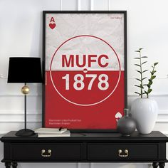 Manchester United Football, Old Trafford, Man United, The Unit, Architecture, Poster, Etsy, Manchester United Soccer, Manchester United