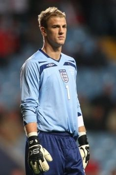 Joe Hart, soccer player for England national football (soccer) team. Another reason I love watching the Euro cup