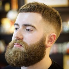 """Beards and fades, if your going to do it do it properly. Aarons created a masterpiece of defined sculpture here. How good is your #beard looking? Using…"""