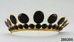 Mourning tiara, worn 1818 and thereafter Follow MLR for more on ideas on the widowed path at:  https://www.pinterest.com/mhoct6462 and blog at www.widsnextdoor.com  Mary Lee Robinson   Author & Grief Coach, The Widow or Widower Next Door