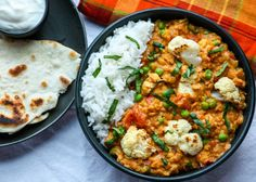 Cauliflower Lentil Curry