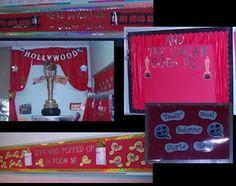 Hollywood themed classroom---super cute ideas!!!