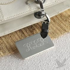 Personalized V.I.P. Luggage Tag for Her, wedding favors