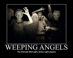 One of the best Dr. Who episodes I've seen.  Creepy Weeping Angels.