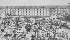 Campo da Leña (1879) Snow, Outdoor, City, Frases, Gallows, Historia, The Neighbourhood, Old Photography, Outdoors