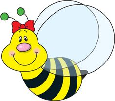 bee clipart 4 free bee clip art drawings and colorful clipartwiz rh pinterest com free bee clipart free beer clipart