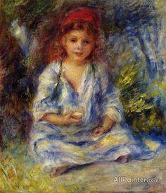 Pierre Auguste Renoir The Little Algerian Girl oil painting reproductions for sale