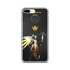 Overwatch Mercy iPhone 7/7 Plus Case