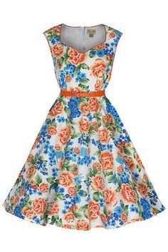 Yulia Dress by Lindy Bop - Gwynnie's Emporium