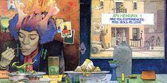 thethreemushrooms:Jimi Hendrix por Moebius http://ift.tt/2uBWGSY