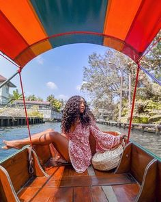Photo by Dana Riza When you are planning to travel, whether it is for a family vacation or a business trip, a Bangkok hotel reservation needs to be made. Poses Photo, Come Undone, Black Girl Aesthetic, Vacation Outfits, Travel Aesthetic, Travel Goals, Beautiful Black Women, Dream Vacations, Vacation Destinations