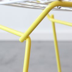 Fab.com | C+C Bertoia Side White Yellow