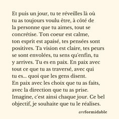 French Poems, French Quotes, Positive Attitude, Positive Vibes, Rare Words, Hopeless Romantic, Beautiful Words, Quotations, Me Quotes