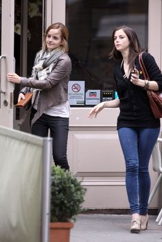 Emma Watson and Kaya Scodelario MY TWO FAVORITE PEOPLE IN ONE PIC